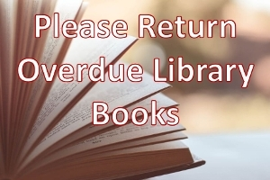 Remember to Return Overdue Library Books Icon