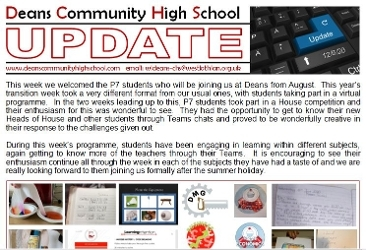Update 12-6-20 for Parents/Carers & Students Icon