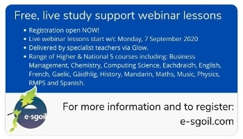 Free, Live Study Support Webinar Lessons - Start W/C 7 Sep. - Register Now! Icon